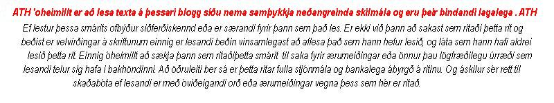 LÍFIÐ Í LÁGGRÓÐRINUM - Hausmynd